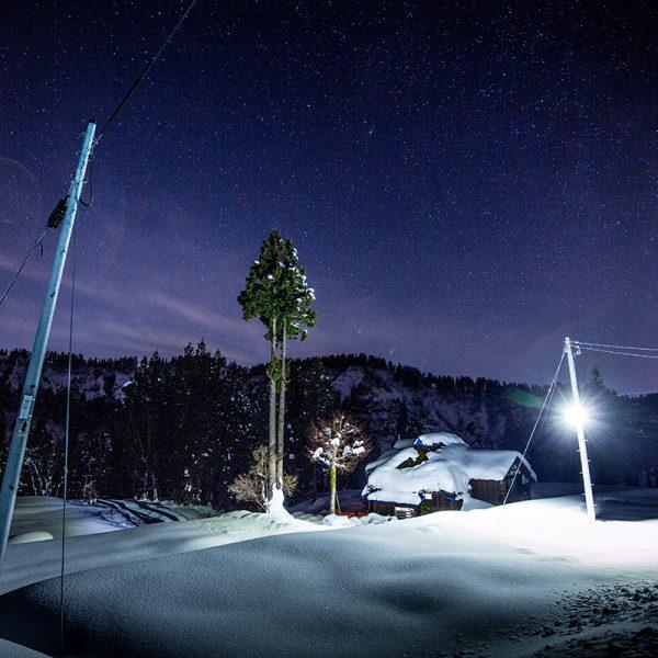 冬景色 夜